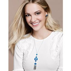 Serenity Blue Necklace and Earring Set | AVON