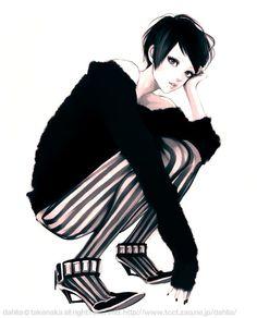 Design Innova: Ilustrações de Moda por Takenaka