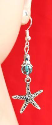 Silver & Blue Starfish Earrings  http://cgi.ebay.com/ws/eBayISAPI.dll?ViewItem=151018902960