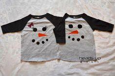Twin Snowman Shirts