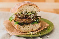 lencse-dió burger
