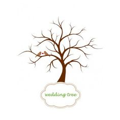 """""""The wedding tree""""- ist eine wunderbare Alternative zum herkömmlichen Gästebuch.  Ihre Gäste stempeln jeweils Ihren schönsten Fingerabdruck in den Stempelfarben Ihrer Wahl, passend zu Ihrem Farbkonzept auf den Baum und schreiben Ihren Namen dazu. Das Endergebnis ist ein wunderschöner, dekorativer Baum mit """"Blättern"""" (Fingerabdrücken) Ihrer Gäste.   Der wedding tree bieten Platz für bis zu 100 Gäste, aber auch mit weniger Fingerprints sieht er wunderbar aus.  Gedruckt wird der Baum auch einem…"""