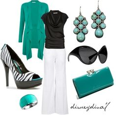 """turquoise"" By Disneydiva7 On Polyvore - Click for More..."