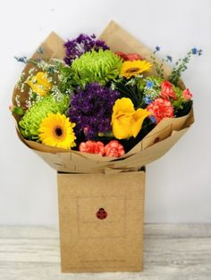 Vibrant Summer Handtied Bouquet: Booker Flowers and Gifts Flowers For You, Summer Flowers, Same Day Flower Delivery, Flowers Delivered, Season Colors, Summer Collection, Liverpool, Vibrant Colors, Bouquet