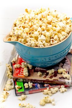 Stove top popcorn - I love popcorn almost anyway you cook it, but this is by far the best.
