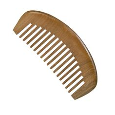 Casualfashion 1 Pcs Natural Green Sandal Wood Combs No Static Wide Teeth Curly Hair Comb * Click image to review more details.