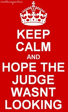 ... hope the judge wasn't looking. Hahahaha i do remember using these exact words a few times :-) sooo many times haha