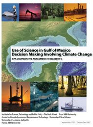 Use of Science in Gulf of Mexico Decision Making Involving Climate Change, EPA Funded Project
