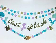Last Splash banner nautical bachelorette hen night bridal