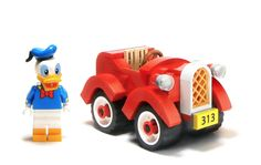 Lego Donald Duck Car