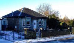 Bardrainney Cottage where Arthur Holmes was born.