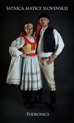 Kostýmy a kroje – Matica slovenská Folk Clothing, Heart Of Europe, Art Reference, Culture, Costumes, Party, Clothes, Beautiful, Slovenia