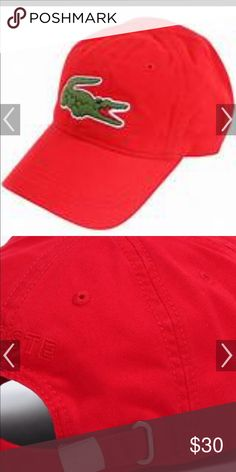 c8ff7b0319c32 Lacoste cap Gently used Lacoste cap Lacoste Accessories Hats