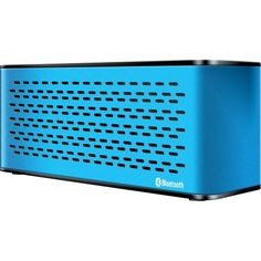 iSound Sonic Waves Bluetooth Speaker with Microphone blue -- ON SALE Check it Out