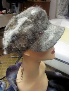 Felt Hat, Dreadlocks, Felting, Hair Styles, Hats, Beauty, Caps Hats, Hair Plait Styles, Fedora Hat