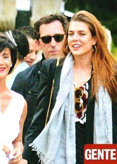 Charlotte Casiraghi, con Gad Elmaleh