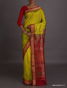 Gargi Unusual Color Combination #SambalpuriSilkSaree