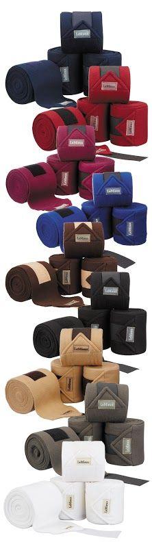 LeMieux Luxury Fleece Exercise Bandages, £18.95