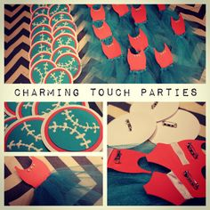 Basball or Ballet Gender Reveal Party by CharmingTouchParties, $25.00