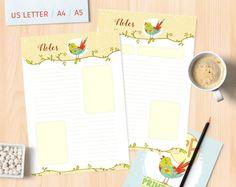 Printable Planner Notes List Printable Planner Pages Daily Notes Planner Page Notes Planner Inserts Notes List Notepad Notes List Notebook