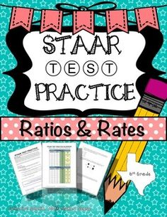 Staar test practice data analysis new teks grade 6 math from math 6th grade math staar ratios rates proportions teks 64b 64c 64d 64e 65a malvernweather Images