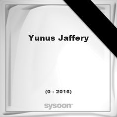 Yunus Jaffery (unknown - 2016): was an Indian scholar of the Persian language. He was from Delhi,… #people #news #funeral #cemetery #death