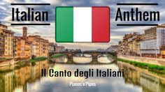 """National Anthem of Italy (Piano Version, Instrumental) """"Il Canto degli Italiani"""" is the national anthem of Italy and one of my favourite anthems. National Anthem, Videos, Piano, Youtube, Italy, Movie Posters, Film Poster, National Anthem Song, Italia"""