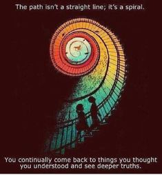 Spiral of life ♻️☀️ What you allow will continue ✅⚡️ - #SpiritualHealing #Balance #Meditation #Unity #SeekTheTruth #Consciousness #Limitless #CollectiveConsciousness #Synchronicity #NoFear #BlissLiving #LOVE #5thdimension #Enlightened #RaiseYourVibration #VibrateHigher #432Hz #528Hz #Frequency #TuneIn #UniversalConsciousness1111 #YouCreateYourOwnReality #HealingVibrations #Metaphysics #Numerology #AngelNumbers