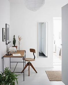 Minimalist home office ideas work spaces desk organization . living room minimalist home office ideas with Home Office Inspiration, Workspace Inspiration, Decoration Inspiration, Interior Design Inspiration, Office Ideas, Design Ideas, Decor Ideas, Travel Inspiration, Decorating Ideas