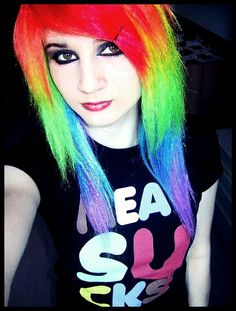Rainbow Scene Hair | Recent Photos The Commons Getty Collection Galleries World Map App ...