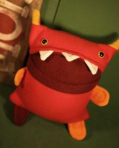 Martin the plush monster :) C.U.T.I.E