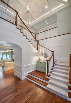 Love this entry and staircase
