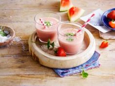 The coconutty pink love smoothie