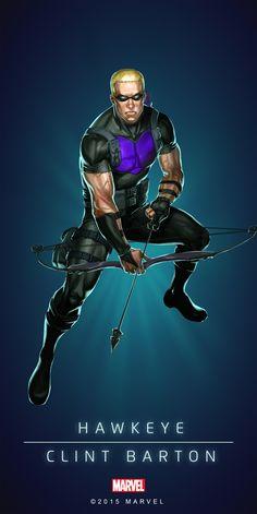 Hawkeye Modern Poster-02