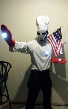 Meet my friend: Iron Chef America