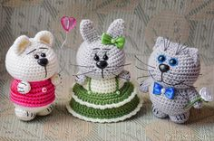 Вязаные игрушки ручной работы от OlgaSimd | ВКонтакте