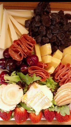 Cheese platter always a hit when entertaining