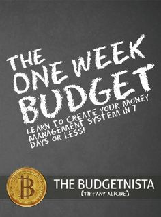 http://financepins.com/the-one-week-budget-learn-to-create-your-money-management-system-in-7-days-or-less/ Hate paying bills? So do I, and that's why I stopped! What if I told you that I haven't paid a bill in almost two years and my credit score is in the high 700's, low 800's? Would you call me a liar or would you want to know how I did it? With the help of Bella the Budgetnista, featured in this book, we will teach you what I took years to lea...