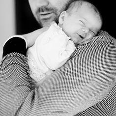 papa et bébé mignon