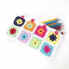 Crochet Pencil Case Pattern Instant by annemariesbreiblog on Etsy, €2.50