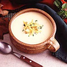 Wisconsin Potato Cheese Soup. The recipe my grandma used to make!