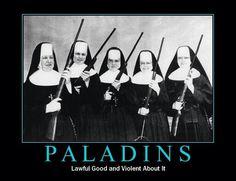 D&D Fun - Paladins