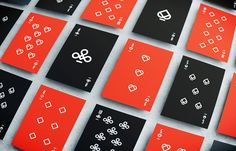 Graphic Inspiration: Playing Cards by Floor