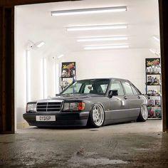 Car Wash Business, Mercedes Benz 190e, Mercedez Benz, Classic Mercedes, Slammed, Hot Cars, Custom Cars, Luxury Cars, Dream Cars