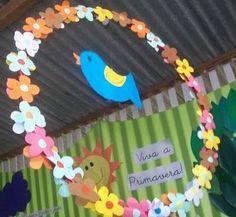 Resultado de imagem para decoração de primavera em escola