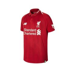 New Balance Liverpool Home Junior Short Sleeve Jersey 2018 2019 - NB Dry  moisture- fbb8b3c86