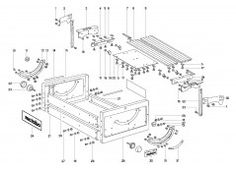 Buy Spare Parts for Metabo 601018 TBA 1018 W - 601018000 - Powertool Spares
