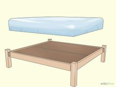 Build a Wooden Bed Frame - wikiHow