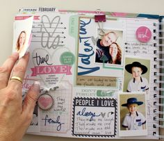 The first 6 weeks - My Memory Planner February prompts #heidiswapp #heidiswapphellotoday