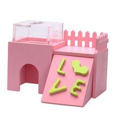 Rabbit Nest, Rabbit Fence, House Rabbit, Rabbit Toys, Gerbil Cages, Wooden House, Animal House, Rats, Projects